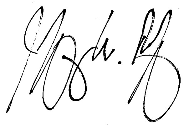 Jeffery's Signature