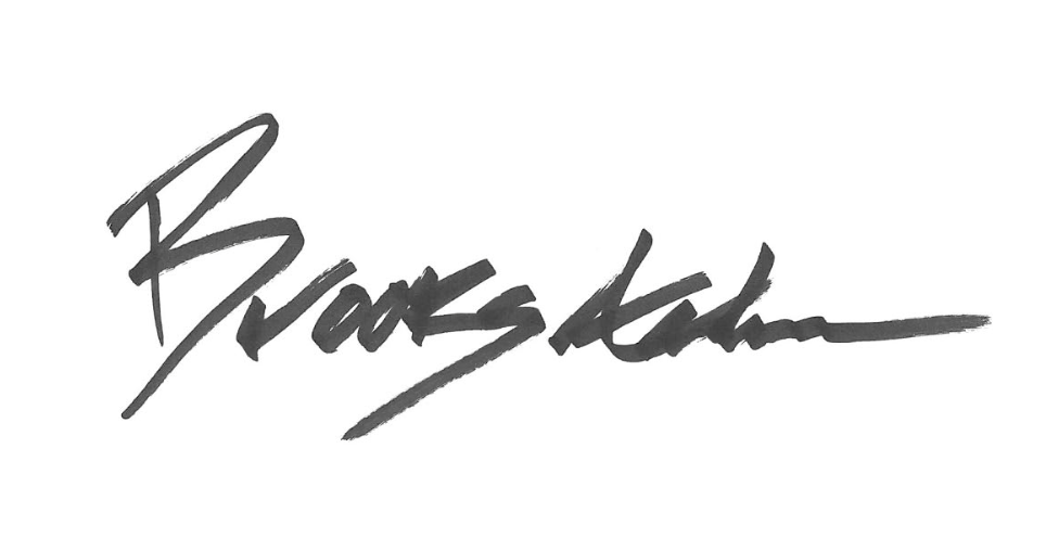 Brooks's Signature